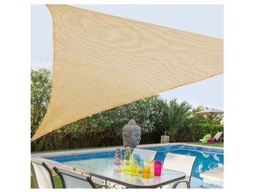 5 m x 5 m Dreieck Sonnensegel