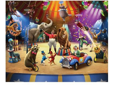 Fototapete Der Zirkus 3 m x 244 cm in 12 Einzelteilen