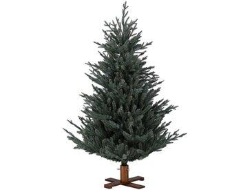 Künstlicher Weihnachtsbaum Eisblau mit Ständer Arkansas