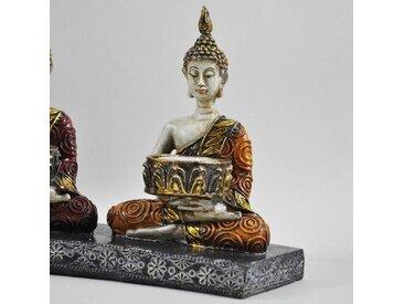Teelichthalter Buddha Meditation