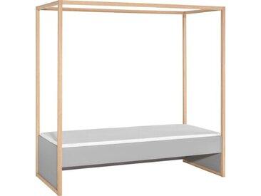 Gemini Europäisches Einzelbett mit Vordach