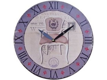 Wanduhr Durchmesser 29 Küchenuhr Wandbehang Wanddeko Uhr Le Lapin Paris