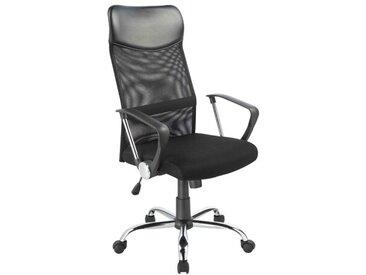Bürostuhl/Chefsessel aus Netzstoff mit Wippfunktion