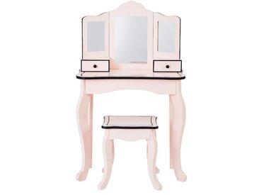 Schminktisch-Set Ackerly mit Spiegel