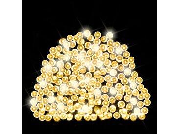 LED-Lichterkette 200-flammig Solar Fairy