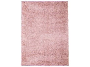 Araby Hochflor-Teppich in Rosa