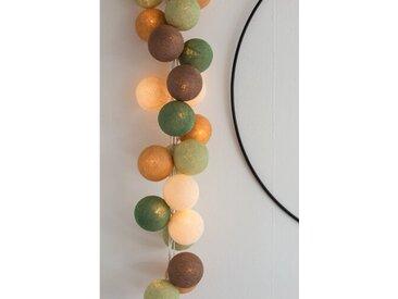Lampion-Lichterkette Damita
