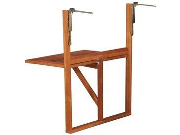 Klappbarer Balkontisch Frame aus Akazienholz