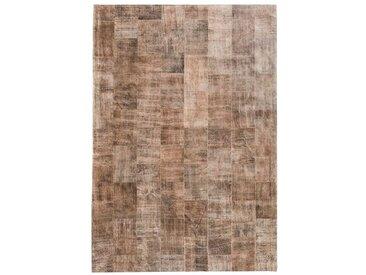 Teppich Felty aus Kuhfell in Hellbraun