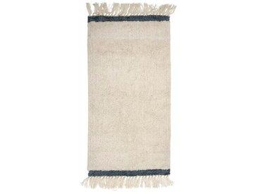 Teppich aus Wolle in Beige