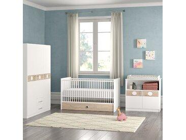 3-tlg. Babyzimmer-Set Kimba