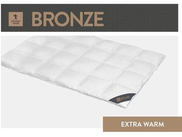 Kassettendecke Bronze 90% Daunen/10 % Federn (Extra Warm)