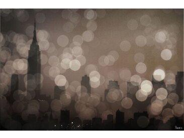 Leinwandbild NY Sleeping von Parvez Taj