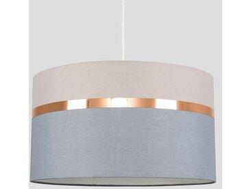45 cm Lampenschirm Lorenzo aus Leinen