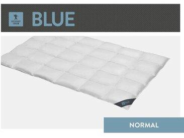 Vier-Jahreszeiten Bettdecke Blue 60 % Daunen, 40 % Federn  (Ganzjährig)