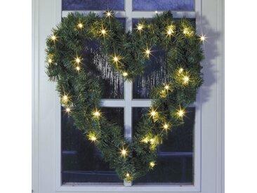 Weihnachtskranz 47 cm mit Beleuchtung