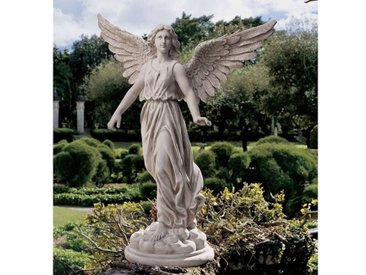 Statue Engel der Geduld