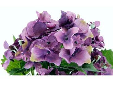 Kunstblumen-Set Hortensie im Topf