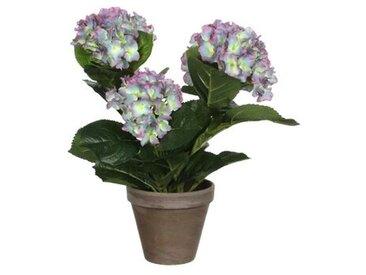 Kunstblume Hortensie Blumenarrangements und Mittelstücke im Topf
