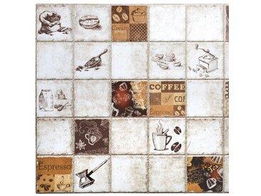 96,4 cm x 48,4 cm Mosaikfliese Hobgood aus PVC