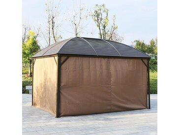 400 cm x 300 cm Pop-Up-Pavillon aus Stahl