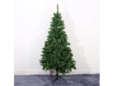 Künstlicher Weihnachtsbaum 183 cm Grün mit Ständer