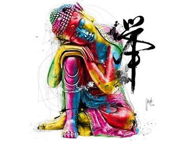 Kunststoffbild Buddha von Patrice Murciano
