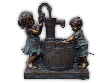 Statue Kinder Brunnen