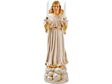 Figur Großer Engel mit Kerzen