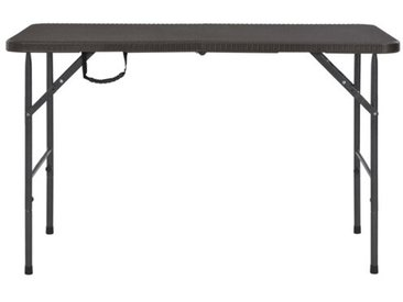 Klappbarer Gartentisch Franke aus Stahl
