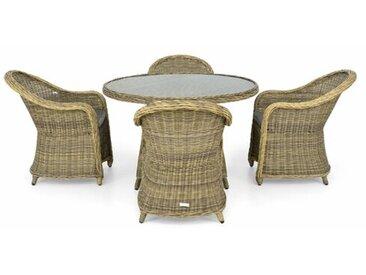 4-Sitzer Gartengarnitur Arona mit Polster