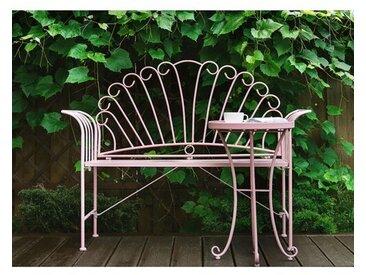 Gartenbank Hartste aus Metall mit Tisch