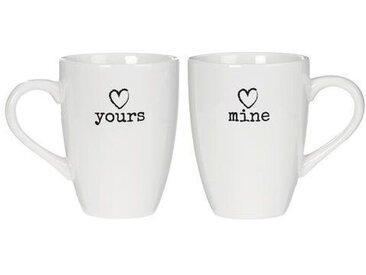 2-tlg. Kaffeetassen-Set Chic