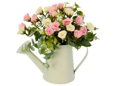 Kunstblume Röschen in Vase