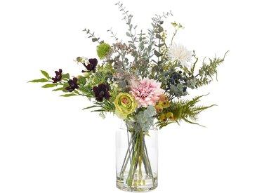 Blumenarrangement Hahnenfuß in Vase