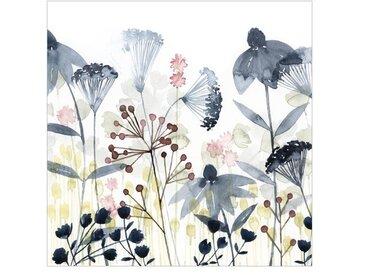 Matt Fototapete Wildblumen Aquarell I 2,4 m x 240 cm