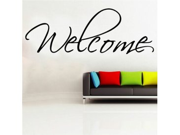 Wandtattoo Welcome