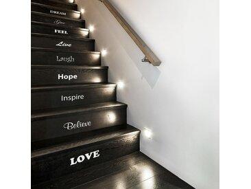 Wandsticker Inspirierende Treppe