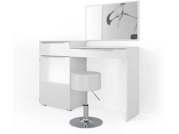 Schminktisch-Set Belton mit Spiegel