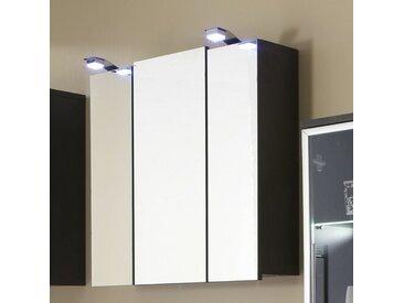 68 cm x 71 cm Spiegelschrank mit LED Beleuchtung