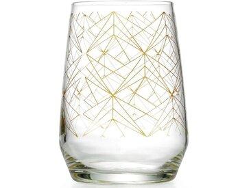 450 ml Longdrinkglas Goldfever (Set of 6)