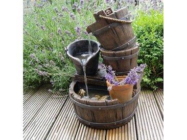Brunnen Etienne aus Polyresin