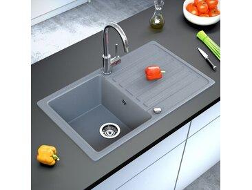 1 Becken Einbau Küchenspüle Thalassa