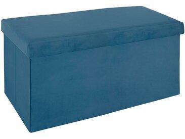 Kunstledersitzbank aus Kunststoff mit Stauraum