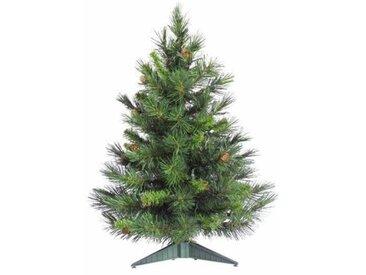 Künstlicher Weihnachtsbaum 61 cm Grün mit Ständer Cheyenne