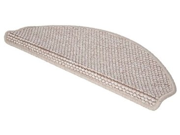 Stufenmatten-Set Ostia in Creme/Braun
