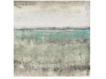 Matt Fototapete Horizont über Türkis I 1,92 m x 192 cm