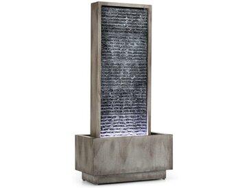 Bodenbrunnen Imperia aus Metall mit Licht
