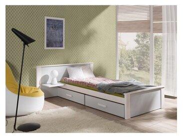 Funktionsbett Mummert mit Schubladen, 100 x 200 cm