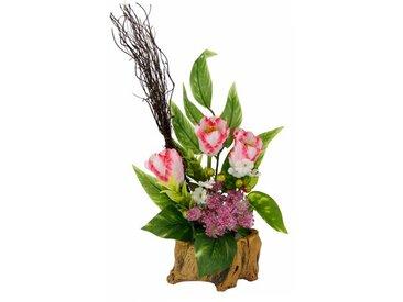 Kunstblume Tulpen in Vase